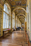 Interior Raphael loggias, State Hermitage Museum Royalty Free Stock Photos