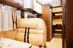 Interior of Recreational Vehicle Royalty Free Stock Photos