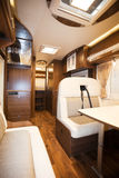 Interior of Recreational Vehicle Royalty Free Stock Photography