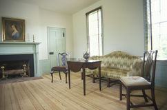 Interior of Red Hill. Patrick Henry's last home, Virginia Stock Photos