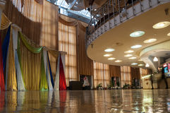Interior of Regional Drama Theater named after Fyodor Dostoevsky, Veliky Novgorod, Russia Royalty Free Stock Image