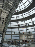 Interior of Reichstag stock photo