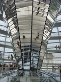 Interior of Reichstag royalty free stock images