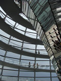 Interior of Reichstag royalty free stock image