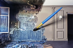 Interior renovation Royalty Free Stock Image
