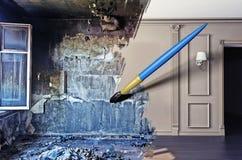Interior renovation royalty free stock image
