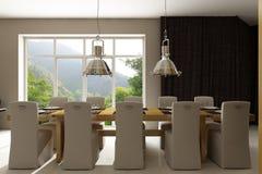 Interior residencial da casa Foto de Stock Royalty Free