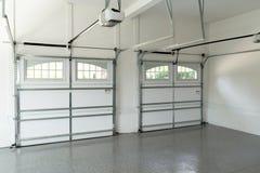 Interior residencial del garaje de la casa Imágenes de archivo libres de regalías