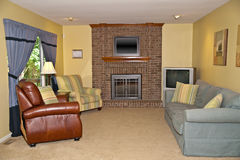 Interior Residential Living Room Royalty Free Stock Images