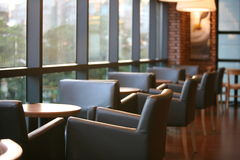 Interior of restaurant Stock Photography