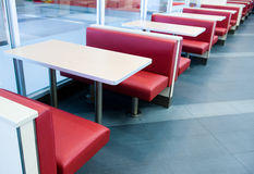 Interior of a restaurant Stock Photography