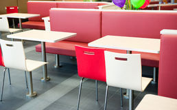 Interior of a restaurant Royalty Free Stock Images