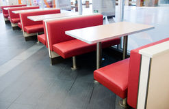Interior of a restaurant Stock Image