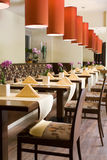 Interior of restaurant Royalty Free Stock Image