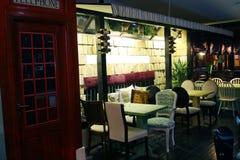 Interior of restaurant Royalty Free Stock Photo