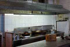 Interior of a restaurant kitchen Stock Photo