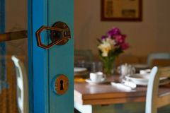 The interior of the restaurant kitchen tavern or cafe Royalty Free Stock Photography