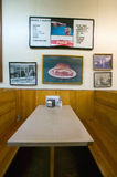 Interior of restaurant in Mount Airy, Royalty Free Stock Photo