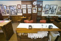 Interior of restaurant in Mount Airy Stock Photo