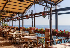 The interior of the restaurant Royalty Free Stock Photography