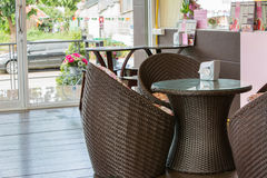 Interior of restaurant Royalty Free Stock Photography