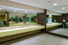 Interior of the restroom Royalty Free Stock Images