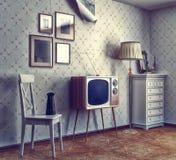 Interior retro Foto de archivo libre de regalías