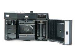 Interior retro de la cámara de la película fotos de archivo libres de regalías