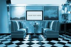 Interior retro do estilo Foto de Stock Royalty Free