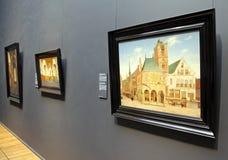 Interior of Rijksmuseum in Amsterdam, Netherlands Stock Photography