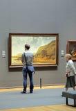Interior of Rijksmuseum in Amsterdam, Netherlands stock image