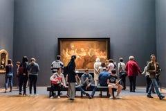 Interior of Rijksmuseum in Amsterdam stock photos