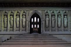 Interior of Rochester cathedral, Kent Royalty Free Stock Photo