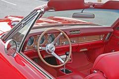 Interior rojo Fotografía de archivo libre de regalías