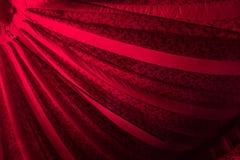 Interior rojo de la tienda de circo Foto de archivo libre de regalías