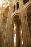 Interior Románico de Abbey Church Fotos de archivo