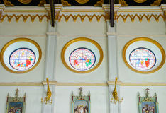 Interior of the Roman Catholic Church(The Nativity of Our Lady C Royalty Free Stock Photography