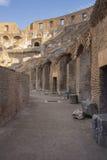 Interior of Roman Coliseum, Rome, Italy Stock Image