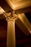 Interior Roman column Stock Image