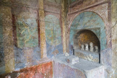 Interior of a Roman Home Royalty Free Stock Image
