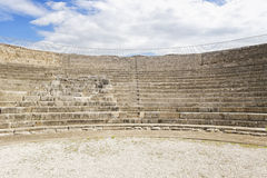 Interior of roman theater Royalty Free Stock Photography