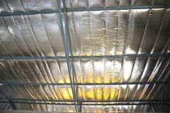 Insulated roof Stock Images