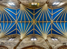 Interior roof of St Giles Cathedral Royalty Free Stock Photography