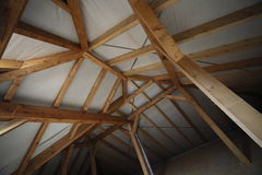 Interior roof structure Royalty Free Stock Photography
