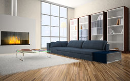 Interior of the room Stock Photography