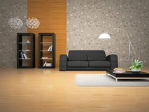 Interior of the room Royalty Free Stock Photos