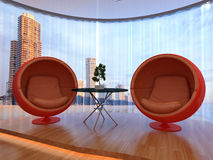 Interior of room Royalty Free Stock Photography