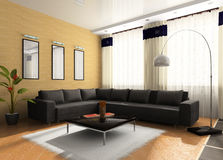 Interior of the room Royalty Free Stock Photo
