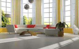 Interior of the room Royalty Free Stock Image
