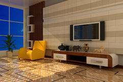 Interior of room Royalty Free Stock Images